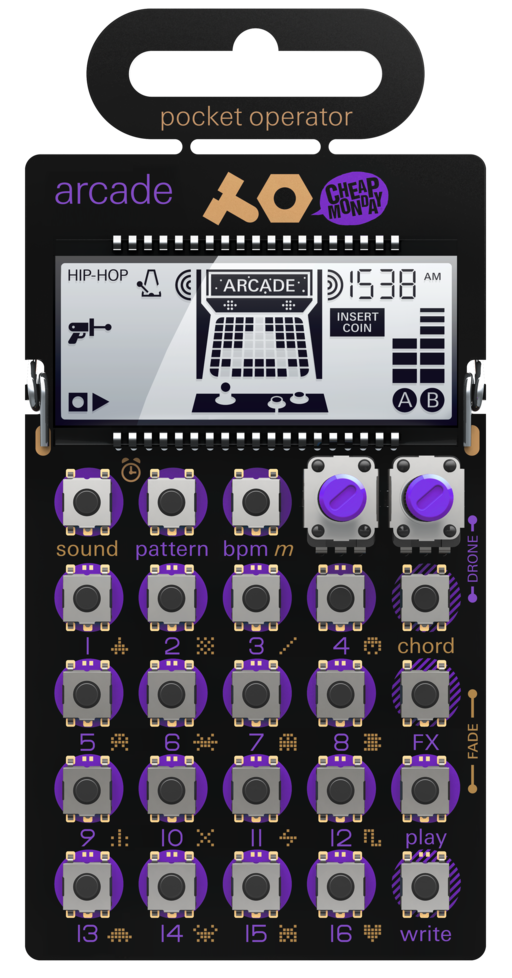 teenage engineering – pocket operators